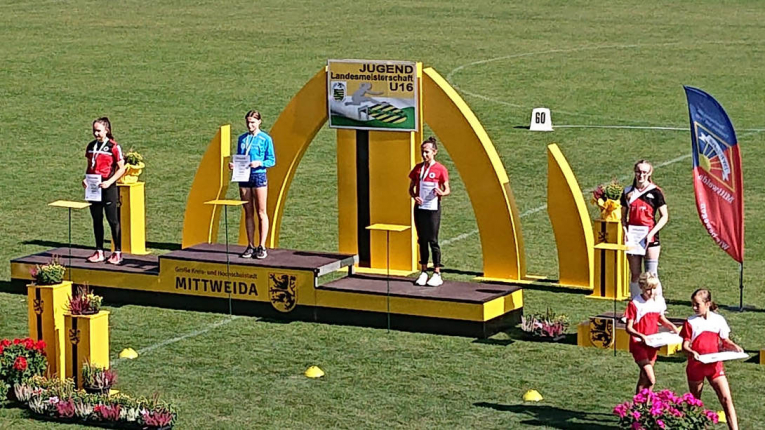 LM U16 in Mittweida + Sportfest in Markkleeberg